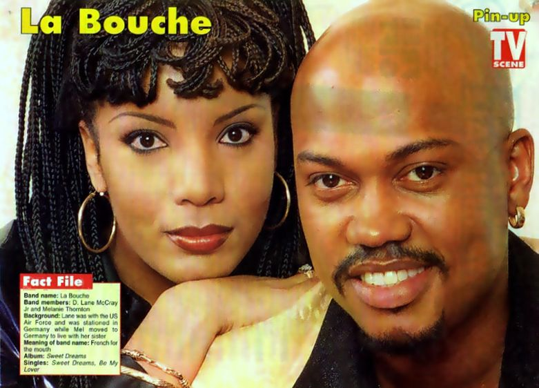 Farian mania la bouche you won 39 t forget me live french tv - La femme a la bouche fendue ...