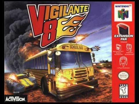 Vigilante 8 64 ROMs Nintendo64