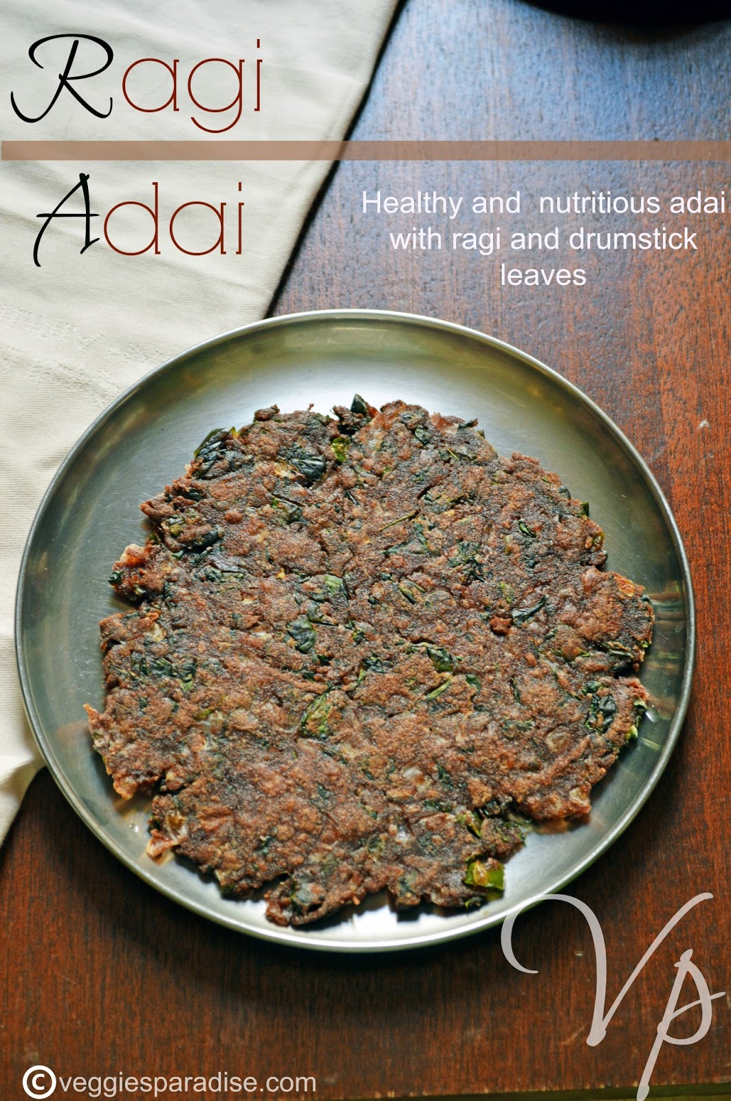 Ragi adai finger millet adai step by step veggies paradise ragi adai diabetic recipediet recipes forumfinder Choice Image