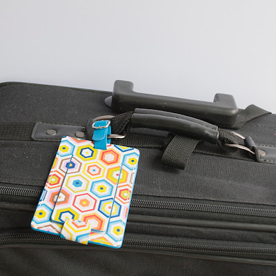 Jonathan Adler luggage tag