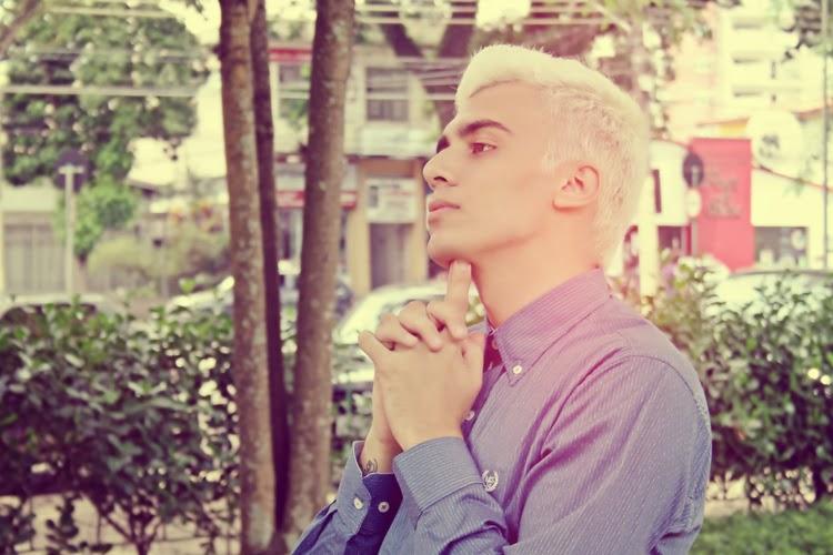 325a5192bc572 Baú da Moda Masculina  Como fazer o cabelo platinado masculino 2014