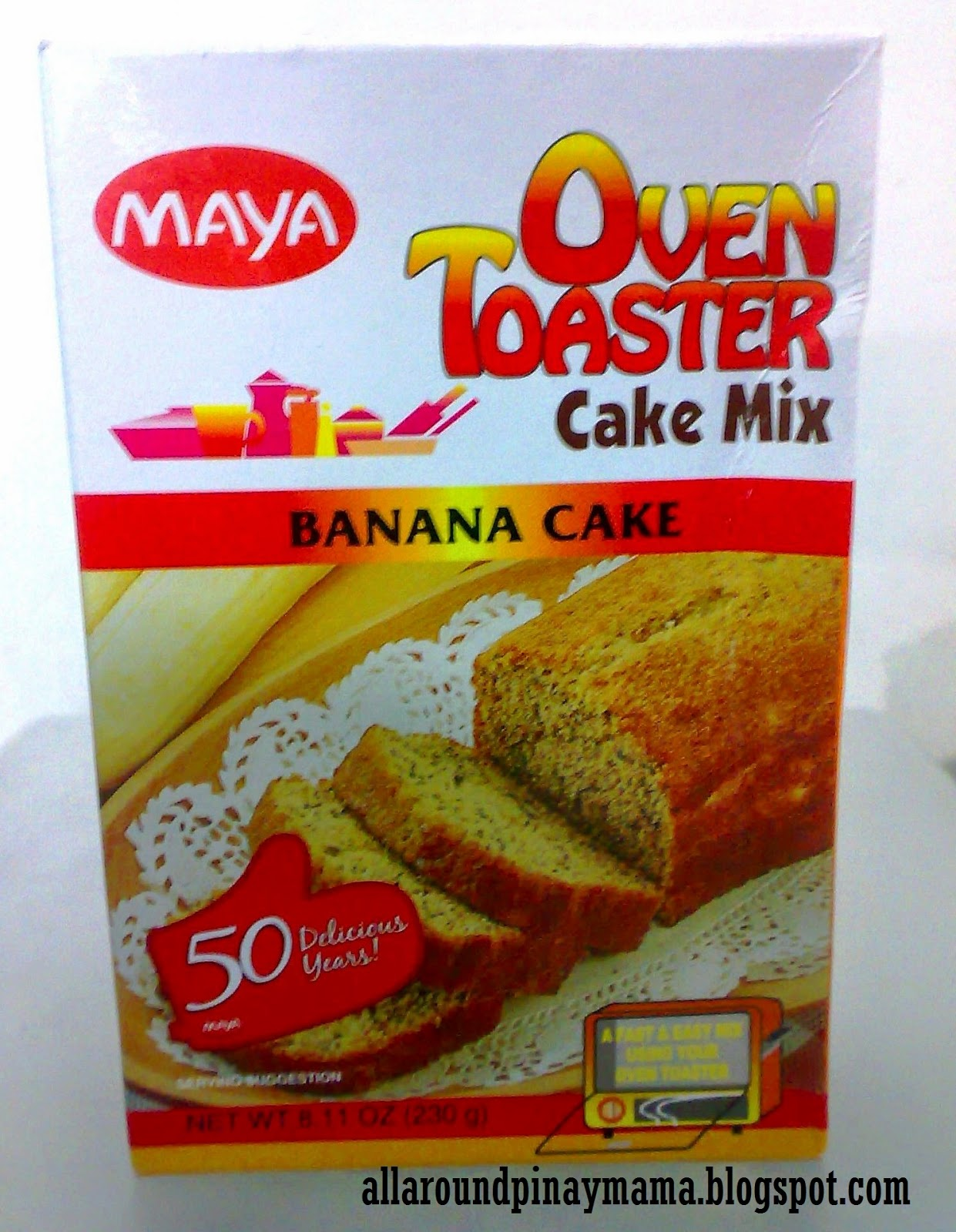 My quick and easy banana cake using maya oven toaster cake mix my quick and easy banana cake using maya oven toaster cake mix banana cake all around pinay mama forumfinder Images