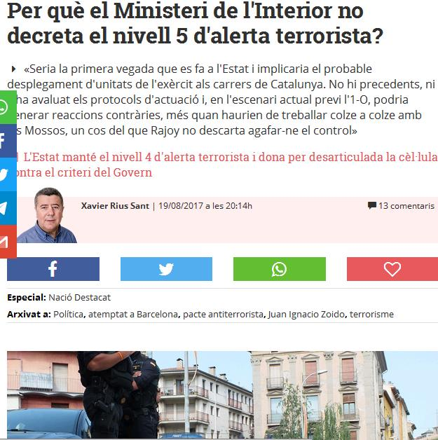 ARTICLES D'INFORMACIÓ A NACIÓ DIGITAL