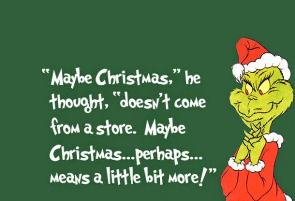 Tis the season for greed | Yes, We Rise  Grinch, holiday shopping