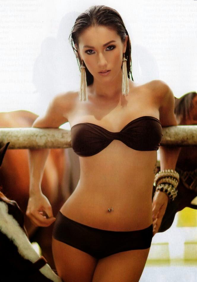 solenn heussaff hot fhm bikini pics 04