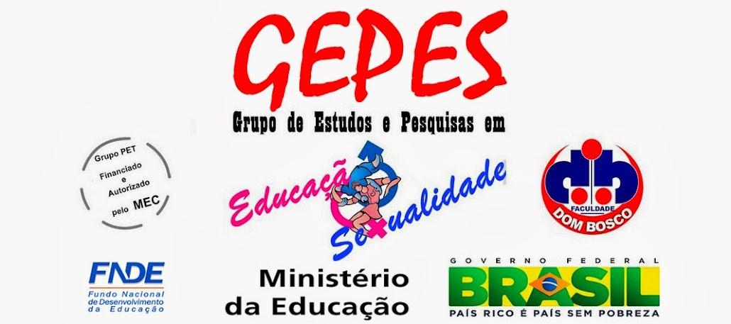 GEPES PET-MEC - FDB: Grupo de Estudos e Pesquisas em Educação e Sexualidade