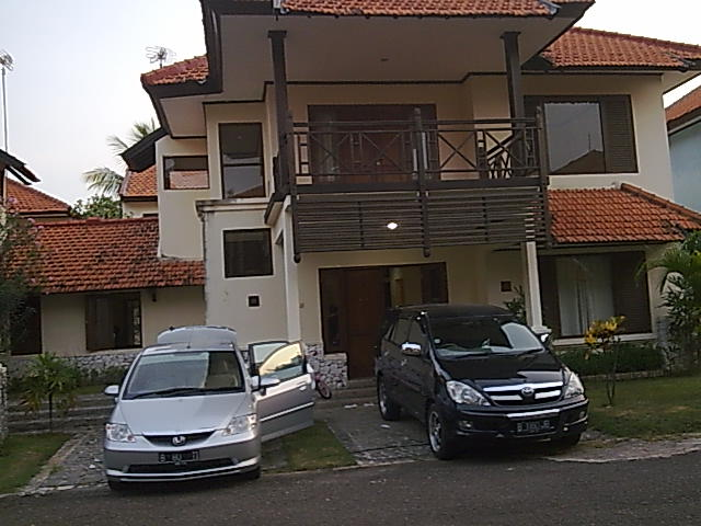 villa 3.kmr tidur + water heater