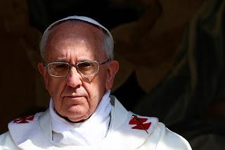 Francis, angry