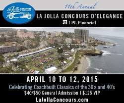 Win 2 VIP tickets to the La Jolla Concours d'Elegance