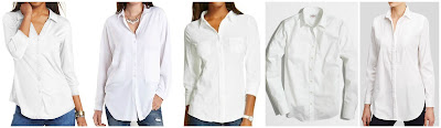 Almost Famous Three Quarter Sleeve Shirt $14.99 (regular $34.00)  Charlotte Russe Oversized Button Up Shirt $15.00 (regular $24.99)  Merona Button Down Shirt $16.99 buy 2 save 20%, buy 3 save 30%  J. Crew Factory Stretch Classic Button Down Shirt $27.00 (regular $54.50)  Ann Taylor Oversized Tuxedo Shirt $39.50 (regular $79.50) not oversized version