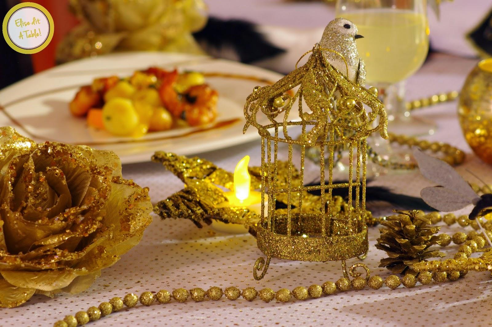 décoration table fête