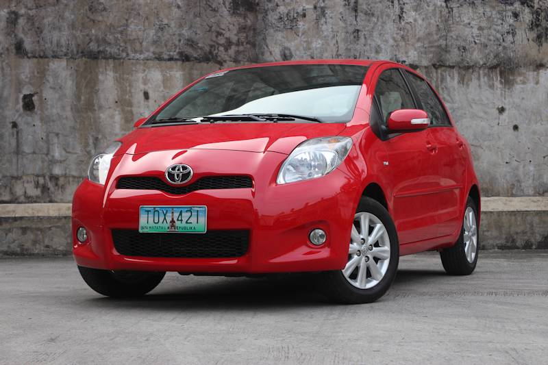 review 2013 toyota yaris philippine car news car. Black Bedroom Furniture Sets. Home Design Ideas
