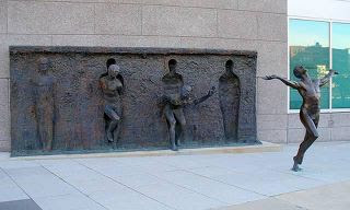 FREEDOM: Sculpture by Zenos Frudakis