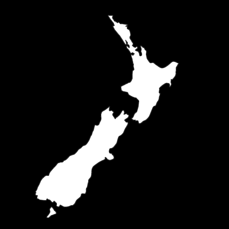 Map New Zealand South Island Distances