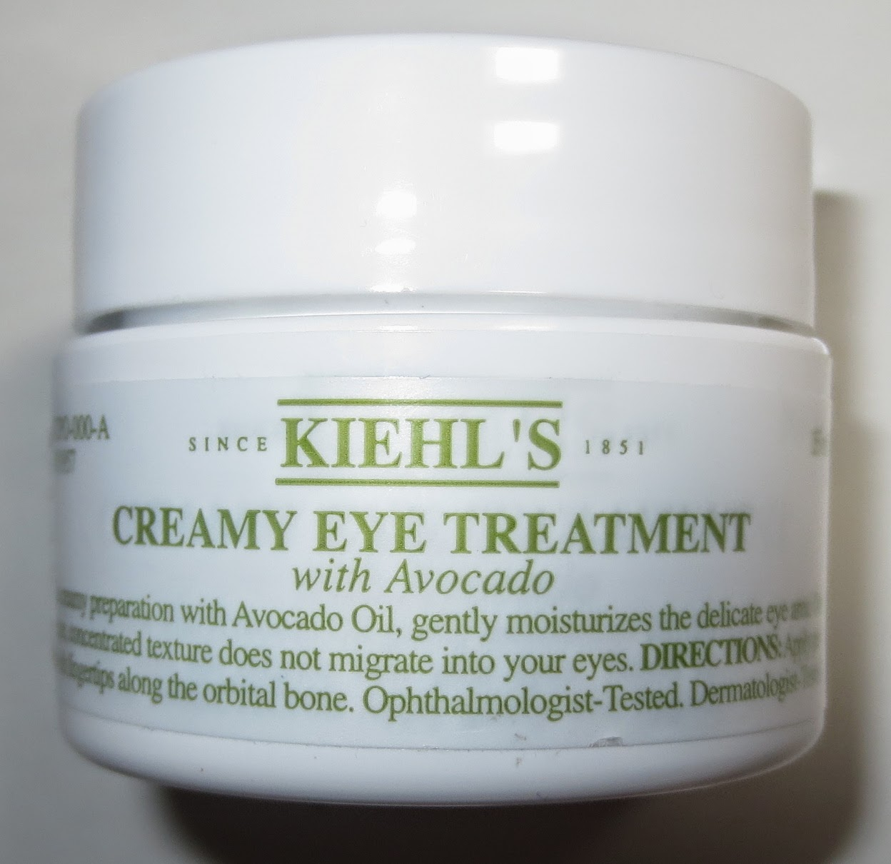 Kiehl's Creamy Eye Treatment with Avocado Packaging