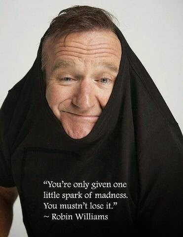 citation, mercredi, happy journal, Robin Williams