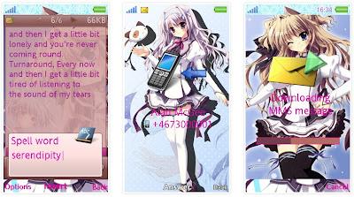 「純白交響曲」SonyEricsson手機主題for Aino含多媒體﹝240x432﹞