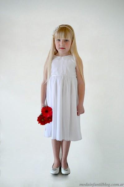 moda infantil en vestidos niñas verano 2014