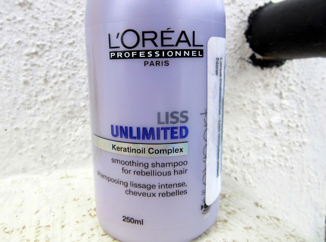 January 2016 Beauty Favorites: L'Oreal Liss Unlimited Smoothing Shampoo