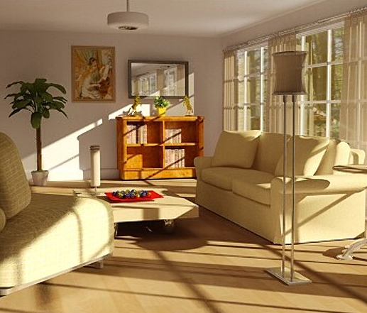 3d cleaning game by rafa l rozendaal 3d living rooms different types for Different types of living rooms