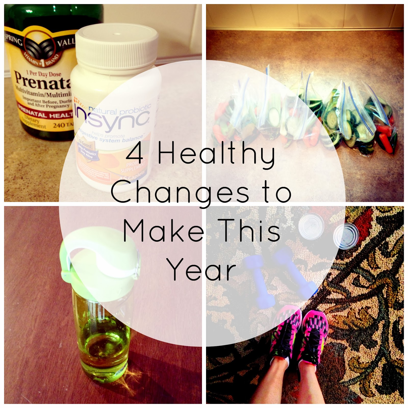 4 Healthy Changes to Make This Year from ONE little MOMMA #naturalprobitoic #spon #cbias