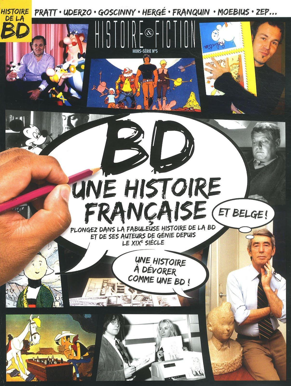 Histoire & Fiction HS : La Bande dessinée, une histoire française