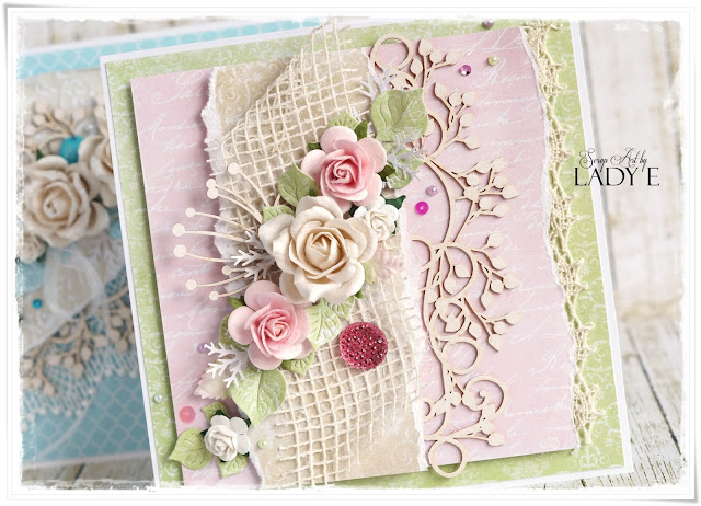 Wild orchid crafts 1 die cut frame 2 cards - Vintage karten basteln ...