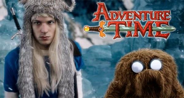 Hora de Aventuras: Tráiler de la película en imagen real hecha por fans
