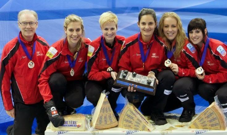 CURLING - Campeonato de Europa femenino 2014 (Champèry, Suiza)