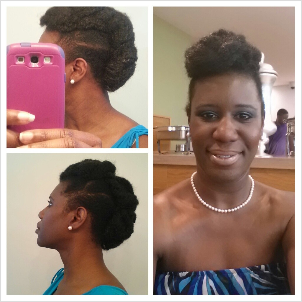 Hairstyles with Marley Hair Updo