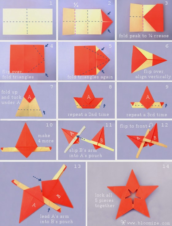 Origami with rectangular paper origami flower easy for How to make easy crafts step by step