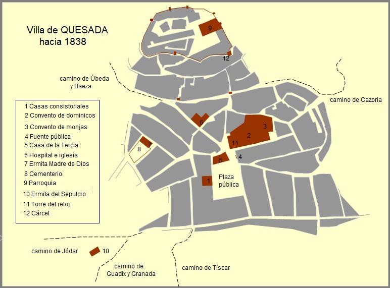 LAS GUERRAS CARLISTAS EN QUESADA. Realistas y carlistas en el siglo XIX