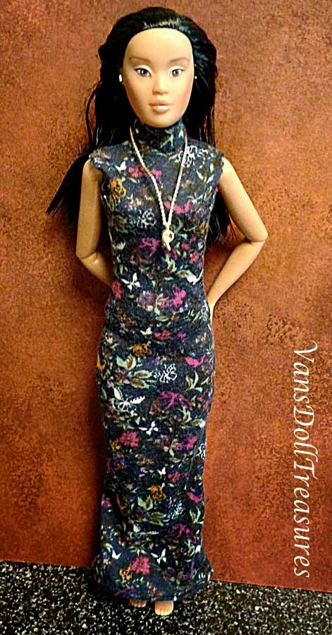 Emerald Rose Dress