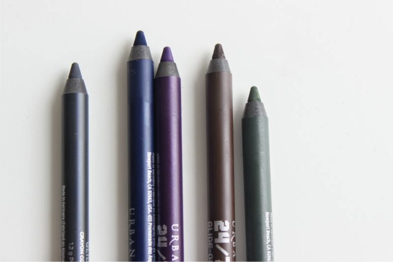 New Urban Decay 247 Velvet Glide On Eye Pencil Shades