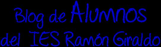 Alumnos del IES RAMÓN GIRALDO