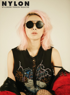 Seo In Young - Nylon Magazine December Issue 2013