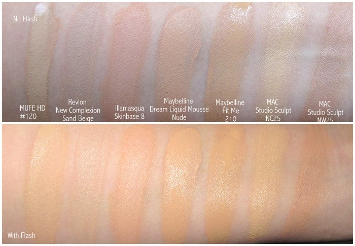 Makeup forever hd foundation shade 120