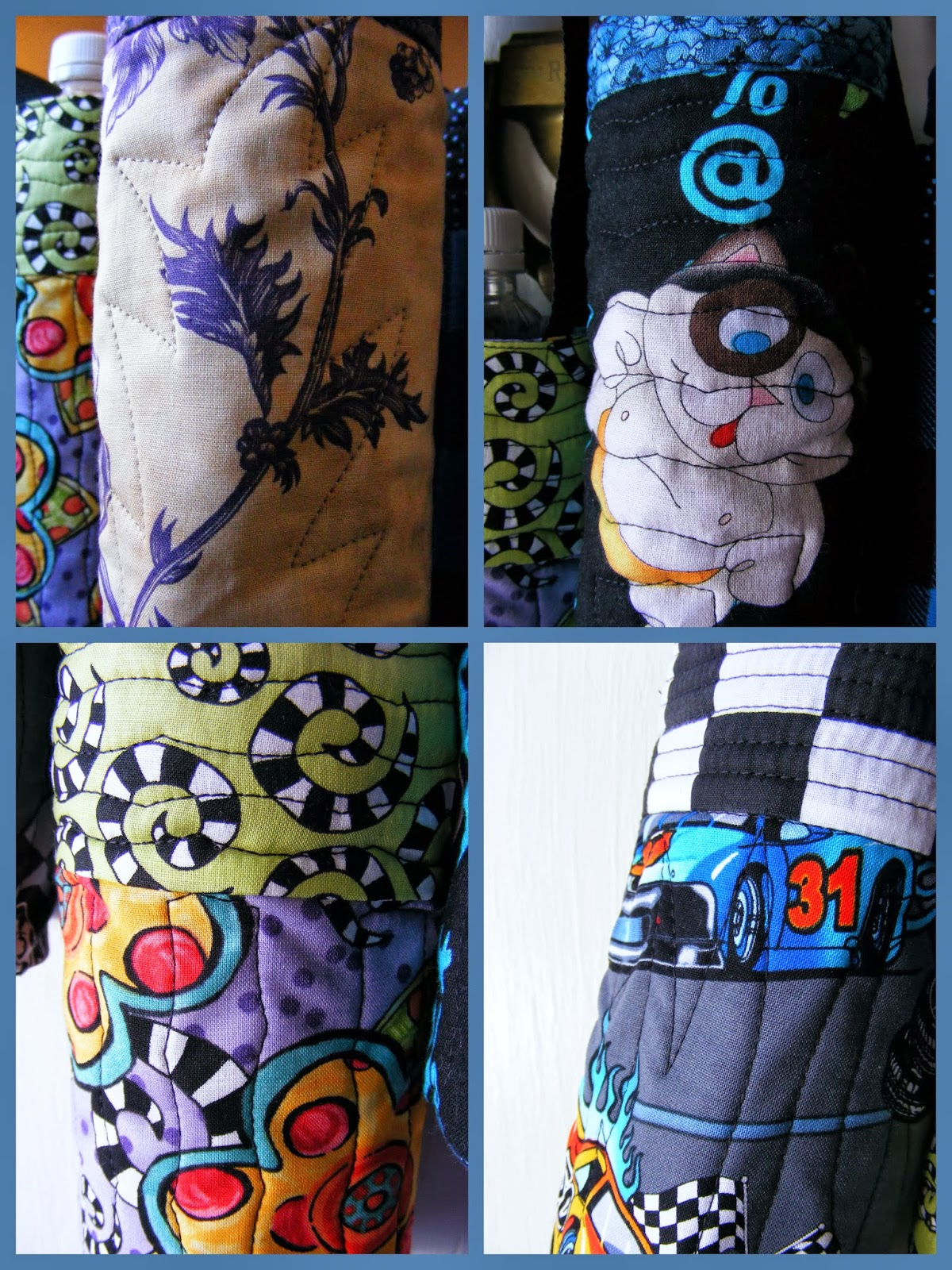 Water Bottle Carrier – Sewn by Angela @ Sew-Whats-New.com