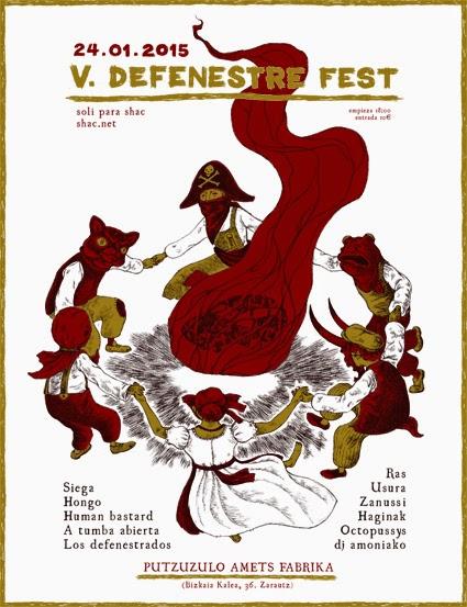 DEFENESTRE FEST V // Zarauz // 24.01.2015 V%2BDefenestre_Web