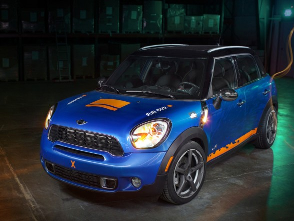 Daily Car Pictures 2011 H Amp R Springs Mini Countryman All4