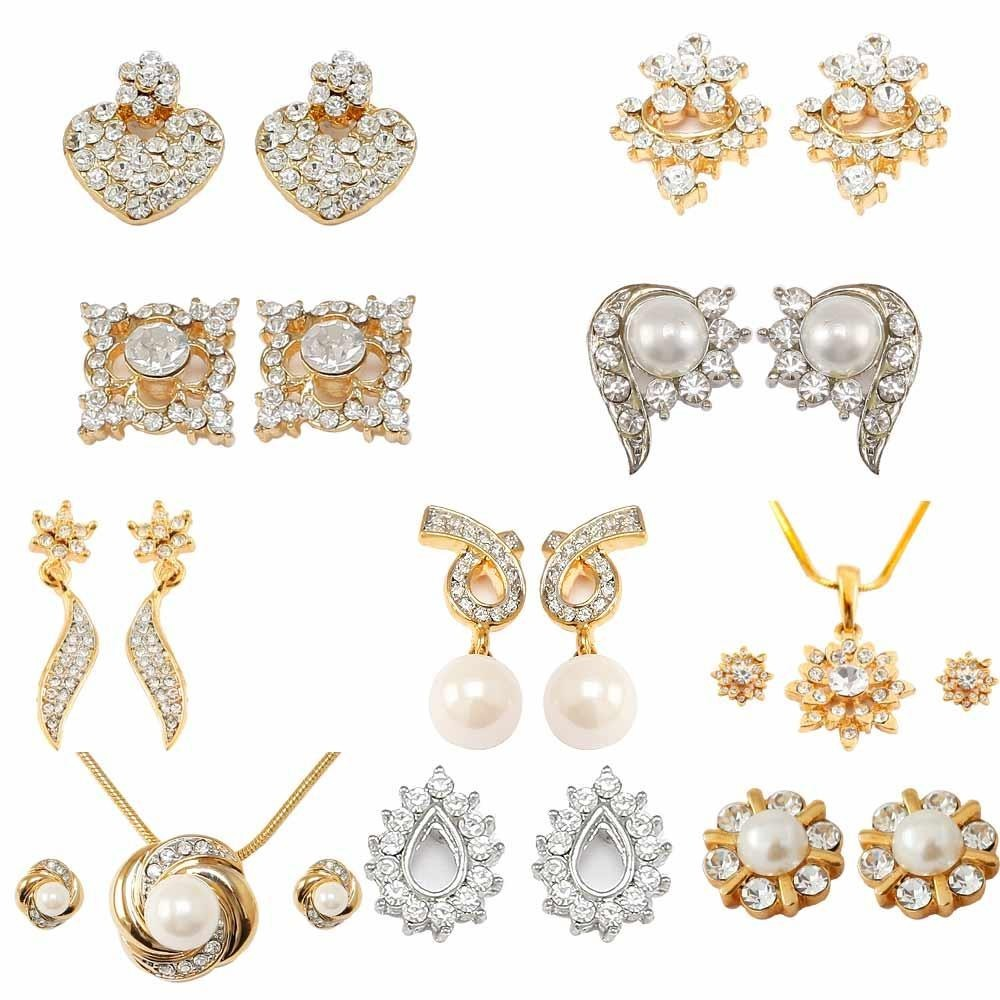 Latest designs gold jewellery bridal necklace set for Designs com