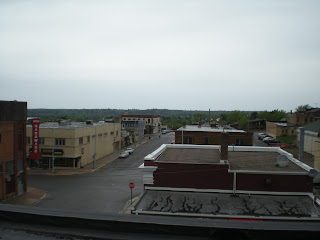 From the roof of the Ely Community Center, picture by John Huisman