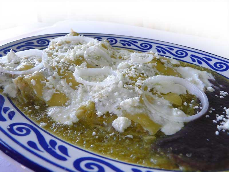 Recetas fáciles y deliciosas: Enchiladas suizas
