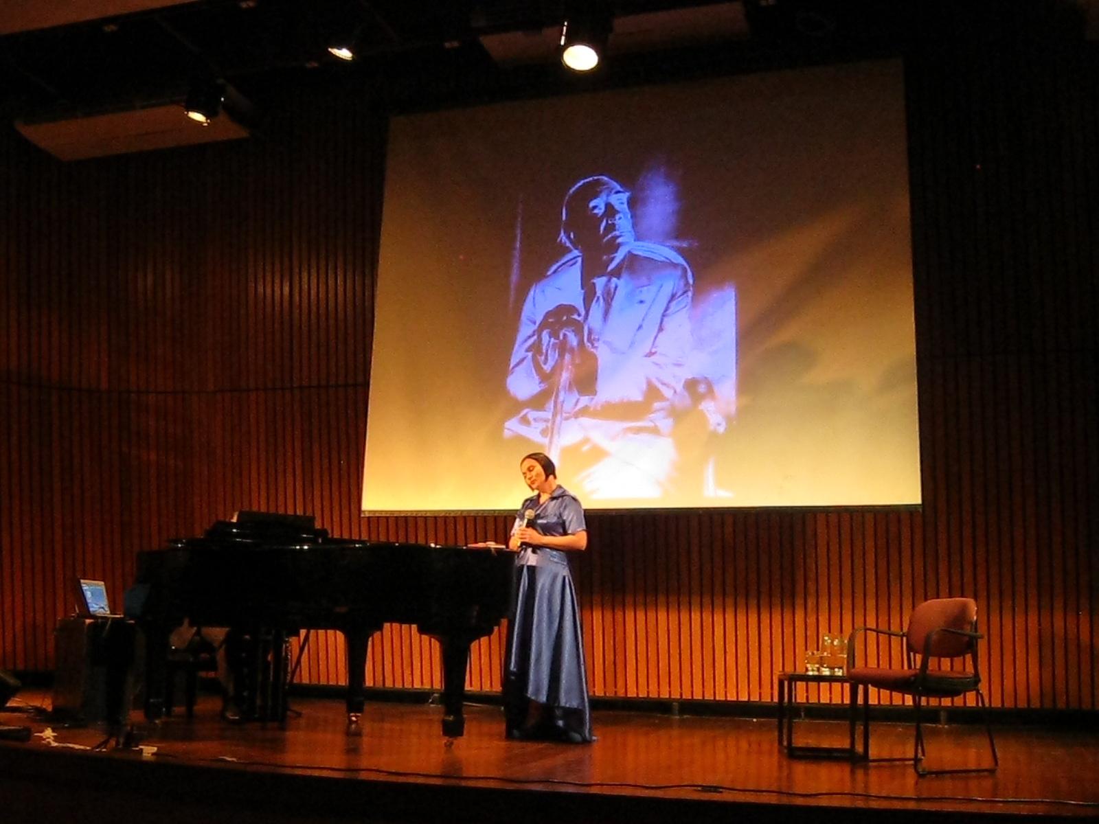Recital El Aleph en la Biblioteca Nacional de Argentina