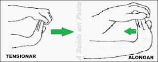 Exercitando mãos e dedos