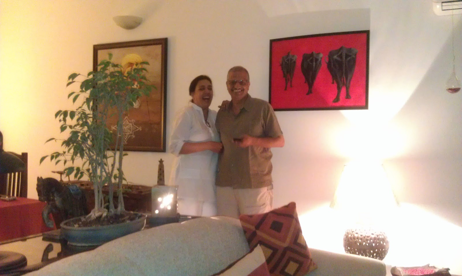 Seema and Rakesh e home Bangalore home tour