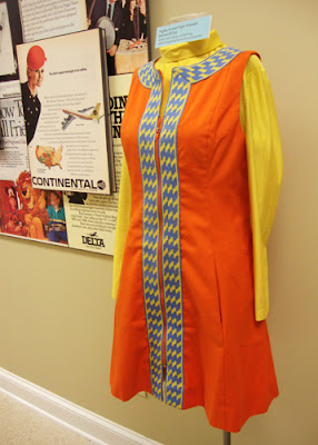 Hughes Airwest Flight Attendant Uniform, NMCA