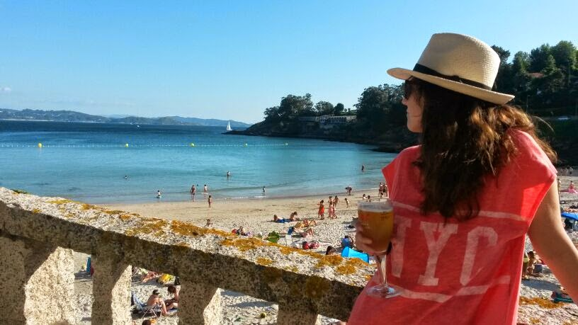 playa beach cerveza galicia portonovo summer verano