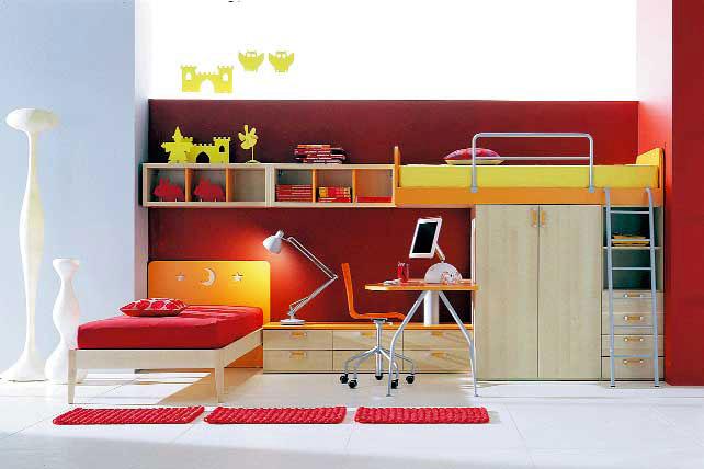 Decorar habitaci n infantil dormitorios con estilo - Dormitorios con literas para ninos ...