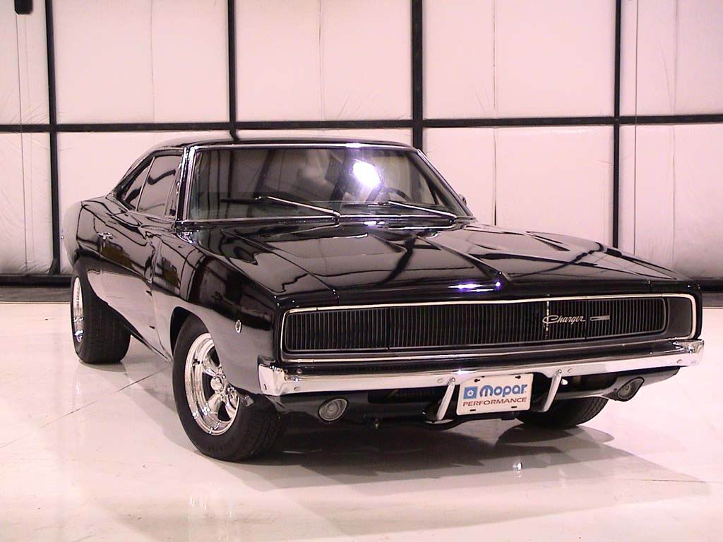 1969 Dodge Charger – Charger In A Barn - Hot Blood